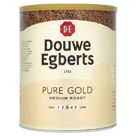 Douwe Egberts Pure Gold Medium Roast 750g Tin